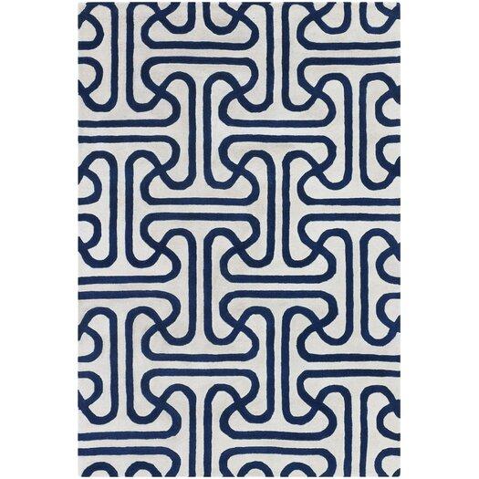 Thomas Paul Tufted Pile Blue Ionic Rug