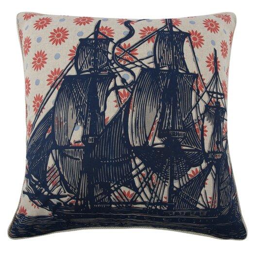 Vineyard Ship Pillow