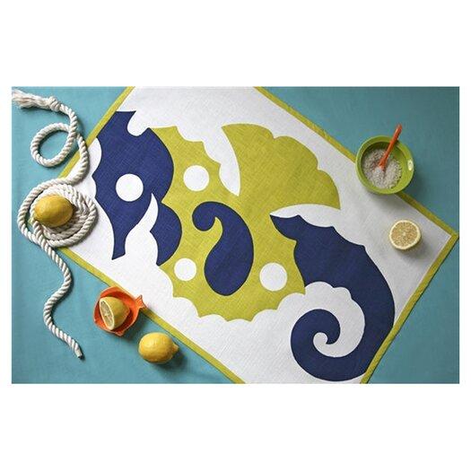 Thomas Paul Seahorse Tea Towel