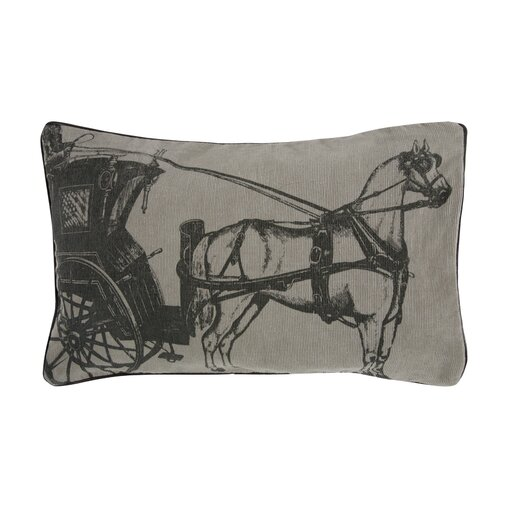 Equestrian Carriage Pillow