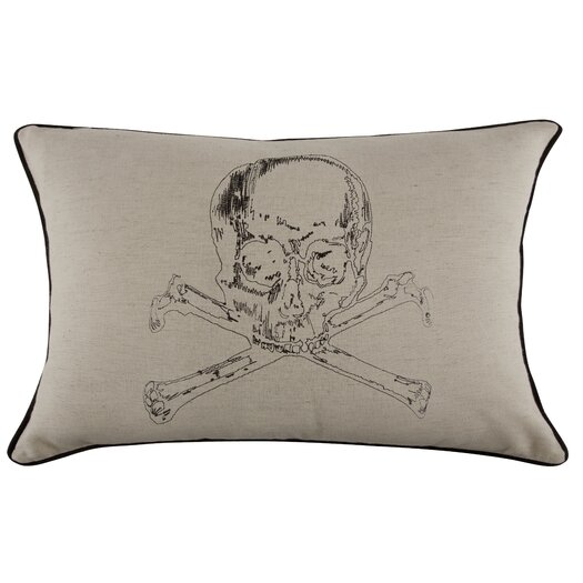Grand Tour Crypt Embroidered Pillow