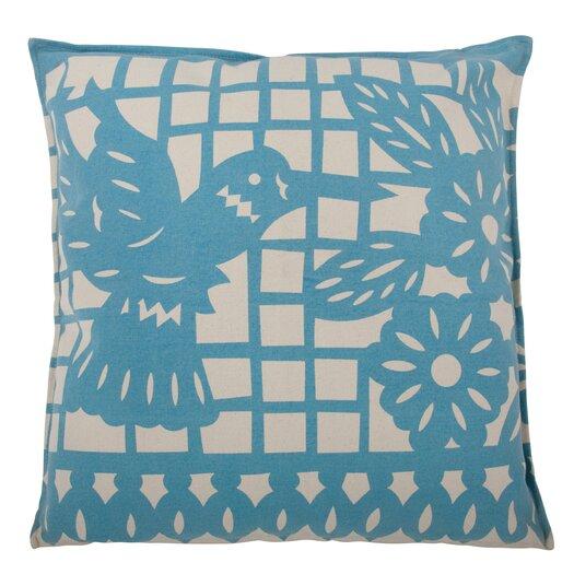 Thomas Paul Mod Mex Accent Pillow Hummingbird