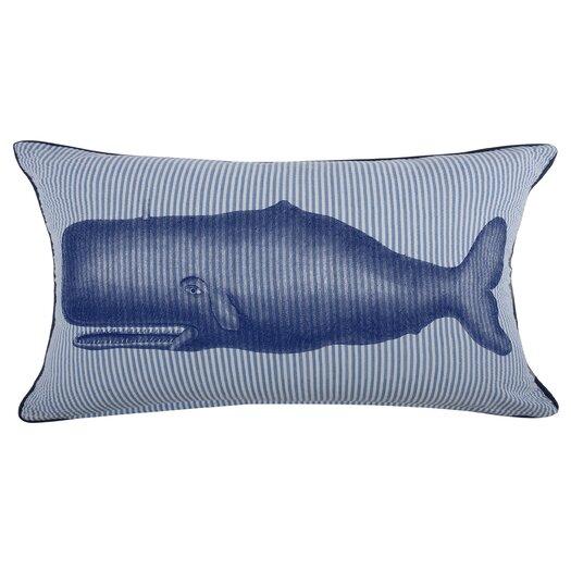 Moby Seersucker Pillow
