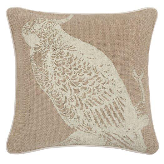 "Thomas Paul 18"" Cockatoo Pillow"