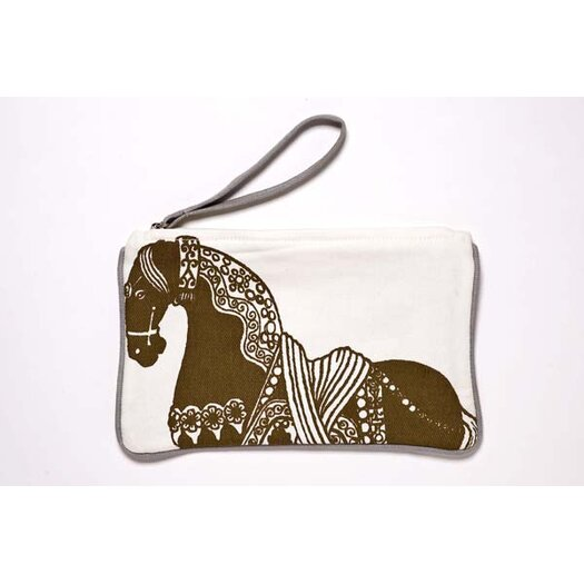 Thomas Paul Horse Pouch in Brown
