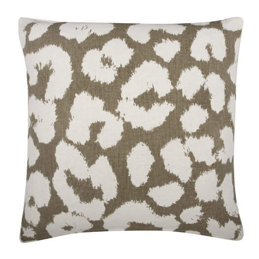 Thomas Paul Fragments Leopard Pillow