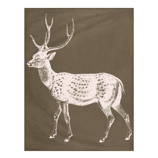 Thomas Paul Baby Deer Alpaca Throw