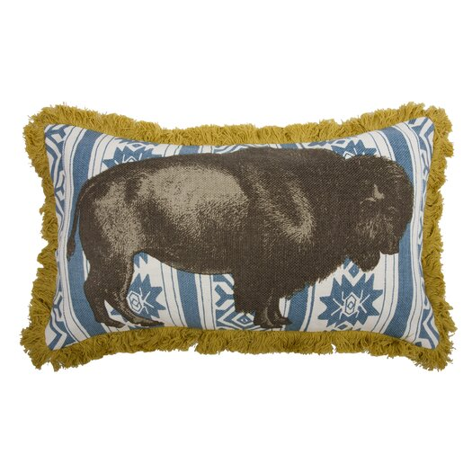 Menagerie Bison Pillow