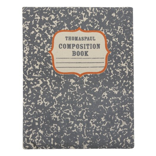 Thomas Paul Composition Book Ipad Envelope