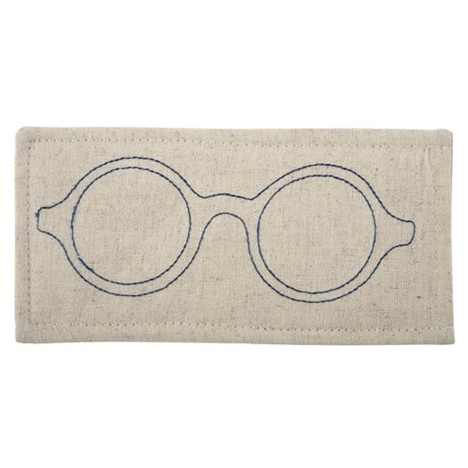 Thomas Paul Eyeglass Embroidered Case