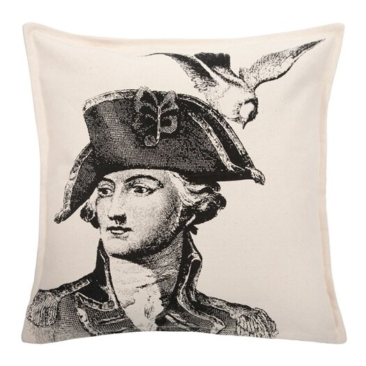 Thomas Paul Man & Dove Throw Pillow
