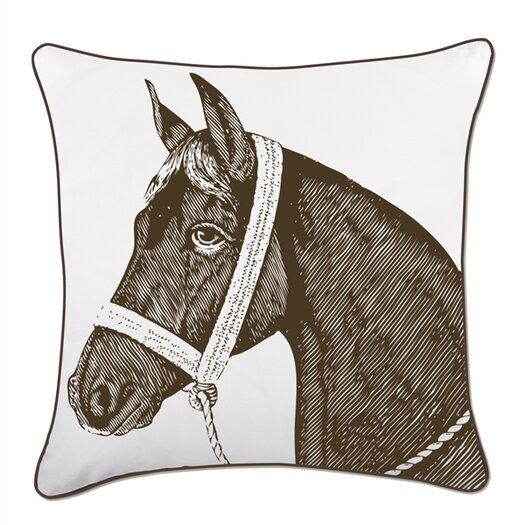 "Thomas Paul 18"" Horse Pillow"