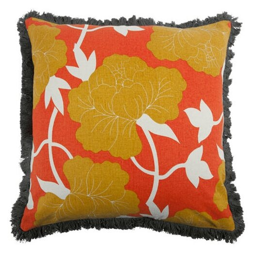 """Thomas Paul 22"""" Roses Pillow"""