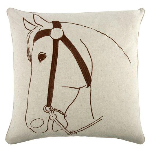 """Thomas Paul 22"""" Thoroughbred Pillow"""