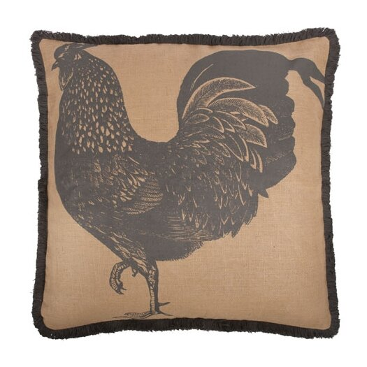 """Thomas Paul 26"""" Rooster Pillow"""
