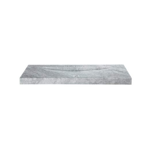 "Ryvyr Marble 48"" Vanity Top with Integrated Bowl"