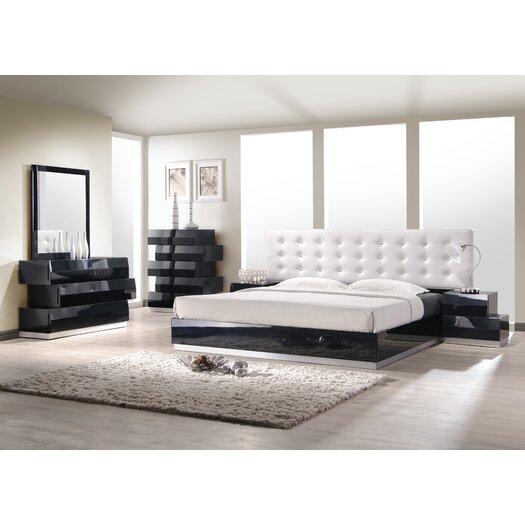 Milan Platform Bed