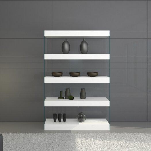 Cloud 5 Shelf Curio Unit