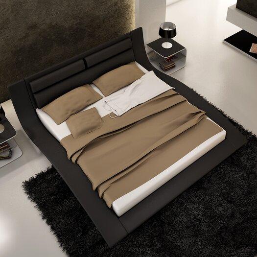 JampM Furniture Wave Platform Bed
