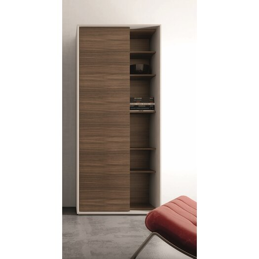 Premium Composition Left Door Wall Shelf