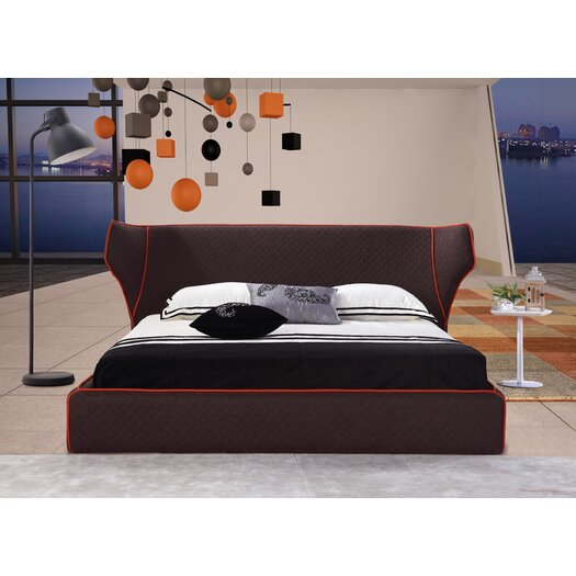 Chanelle Wingback Bed