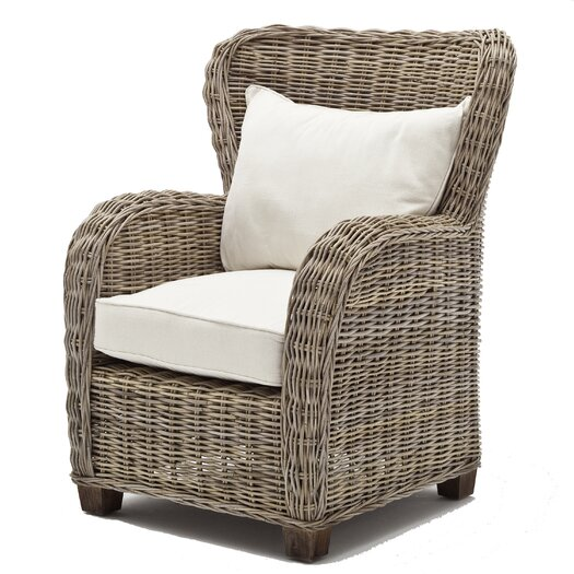 Infinita Corporation Wickerworks Queen Lounge Chair with Cushions