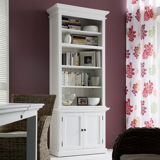 "Infinita Corporation Halifax Single Tower Hutch 86.6"" Bookcase"