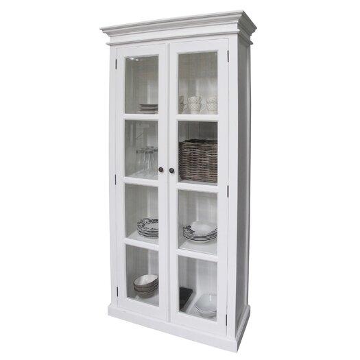Infinita Corporation Halifax Double Door Curio Cabinet