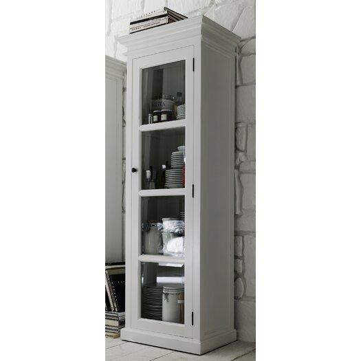 Infinita Corporation Halifax Single Door Curio Cabinet