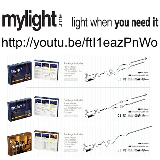 Infinita Corporation Mylight.Me Tape Light