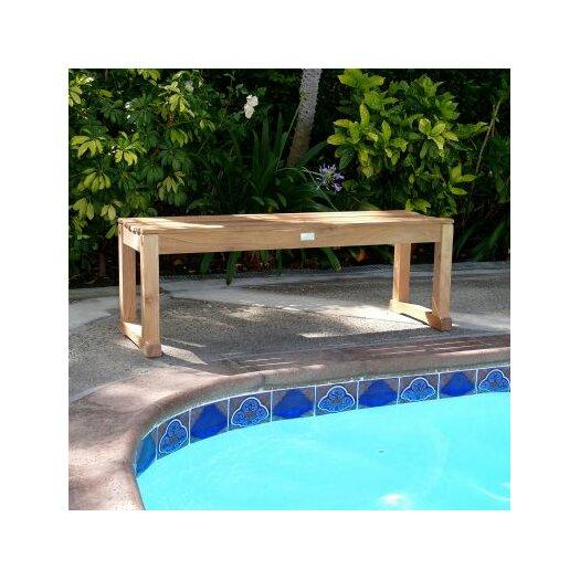 Infinita Corporation Le Spa Teak Picnic Bench