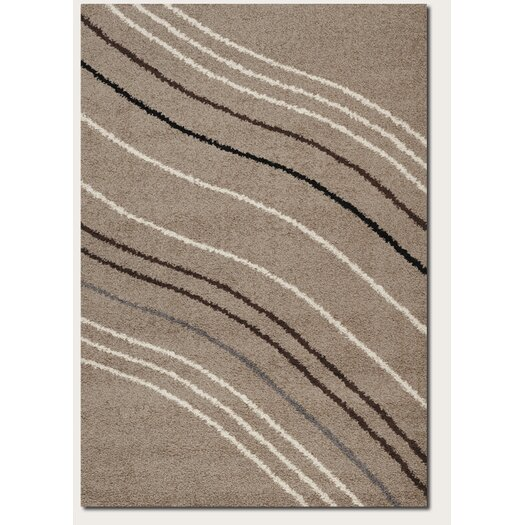 Couristan Moonwalk Solar Wave Sand Rug