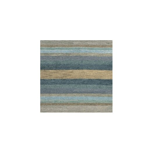 Couristan Oasis Caribbean Vista Blue Striped Area Rug