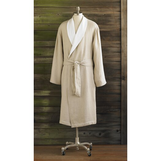 Coyuchi Linen and Terry Robe