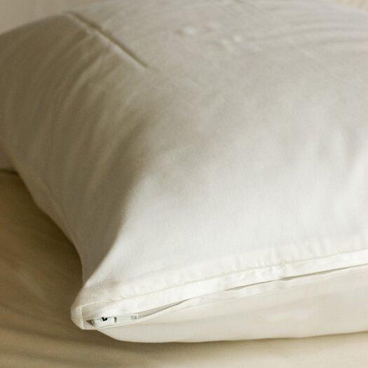 Coyuchi Sateen Pillow Protector