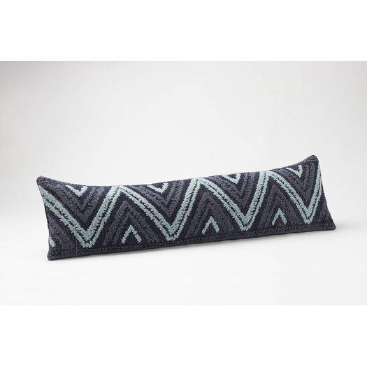 Coyuchi Ridgeline Dhurrie Organic Cotton Pillow
