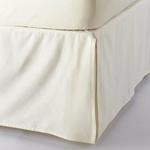 Coyuchi Sateen 300 Thread Count Organic Cotton Bed Skirt