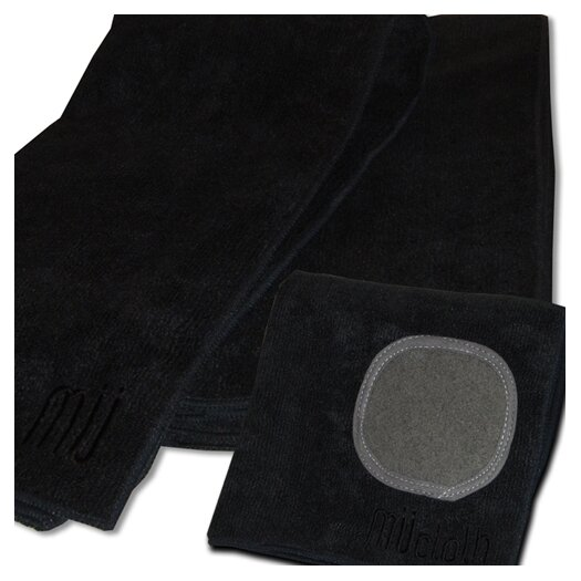 MU Kitchen MUmodern Dishcloth and Dishtowel Set in Onyx