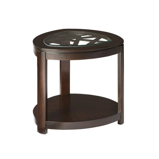 Standard Furniture Crackle End Table