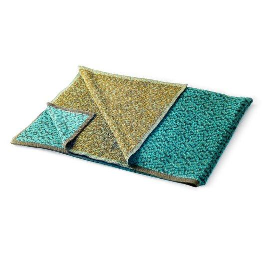 Bitmap Labyrinth Cotton Blend Blanket