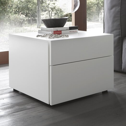 Rossetto USA Start 2 Drawer Nightstand