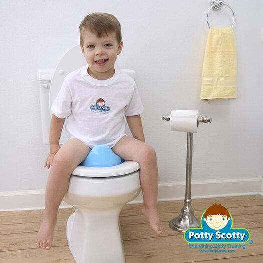 Mom Innovations The Potty Scotty Potty Seat II in Blue