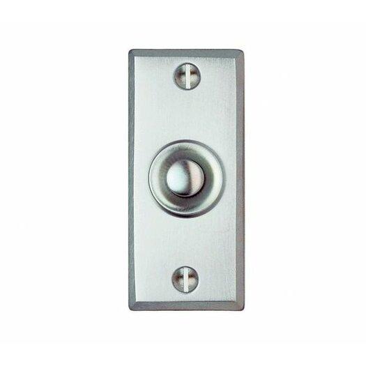 Smedbo Beslagsboden Rectangular Doorbell Push