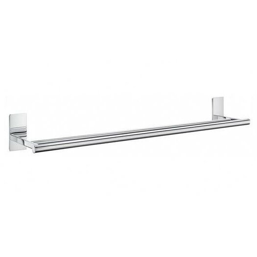 "Smedbo Pool 24.8"" Wall Mounted Double Towel Bar"