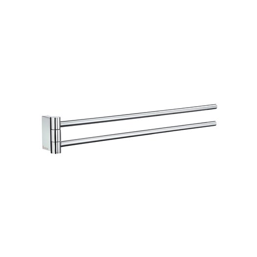 "Smedbo Air 17"" Wall Mounted Towel Bar"