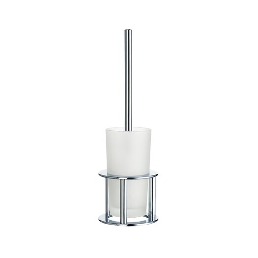 Smedbo Outline Freestanding Toilet Brush with Full Round Base