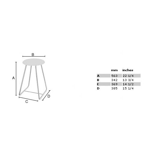 """Smedbo Outline 22.25"""" Shower Chair with Werzalite White Seat in Polished Stainless Steel"""