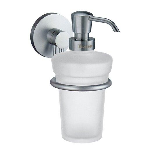 Smedbo Studio Holder with Soap Dispenser