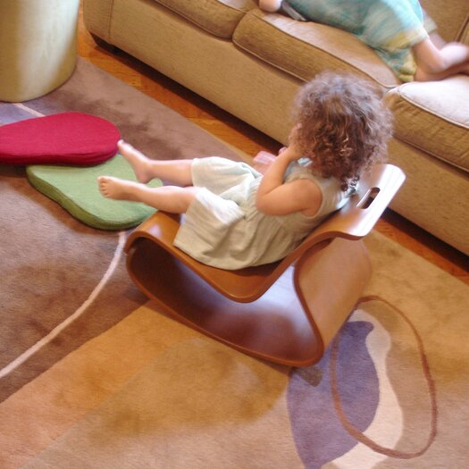 Iglooplay Mod Kid's Rocking Chair with Cushion