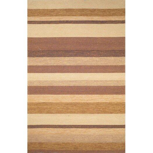 Trans-Ocean Rug Ravella Stripe Sand Indoor/Outdoor Rug
